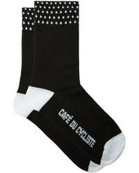 Café du Cycliste Anti-blister Cycling Socks - Black