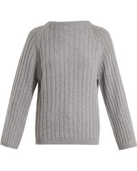 Queene And Belle - Aster Ribbed-knit Cashmere Sweater - Lyst