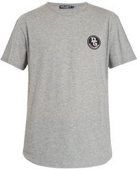 Dolce & Gabbana - Logo-patch Cotton-jersey T-shirt - Lyst