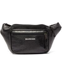 Balenciaga - エクスプローラー レザーベルトバッグ - Lyst