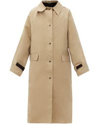 Kassl - Original Wax-coated Cotton Trench Coat - Lyst