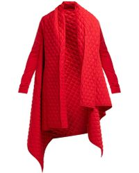 Norma Kamali - Blanket Quilted Coat - Lyst