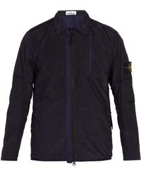 Stone Island - Technical Overshirt - Lyst
