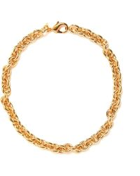 Joolz by Martha Calvo Bianca 14kt Gold-plated Chain-link Necklace - Metallic