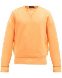 Polo Ralph Lauren コットンブレンドスウェットシャツ - オレンジ