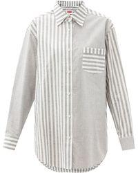 Solid & Striped ザ オックスフォード ストライプ コットンシャツ - マルチカラー