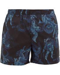 Valentino - Astronaut-print Swim Shorts - Lyst