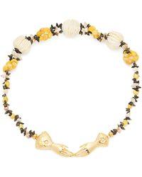 Heimat Atlantica - Eloise Shell Embellished Necklace - Lyst