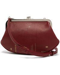 Vetements - Granny Passport-print Saffiano-leather Bag - Lyst