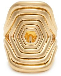 Fernando Jorge | Yellow-gold Cushioned Lines Ring | Lyst
