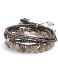 M. Cohen - Set Of Three Labradorite And Silver Bracelets - Lyst