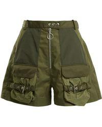 Marques'Almeida - Patch-pocket High-rise Shorts - Lyst