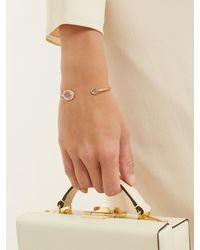 Susan Foster Diamond & 18kt Gold Bracelet - Metallic