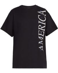 Perry Ellis - America Print Cotton T Shirt - Lyst