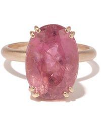 Irene Neuwirth Gemmy Gem Tourmaline & 18kt Rose-gold Ring - Pink