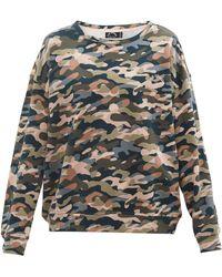 The Upside Sweat-shirt en coton à imprimé Alena - Multicolore