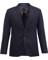 Polo Ralph Lauren ウールブレンド シングルジャケット - ブルー