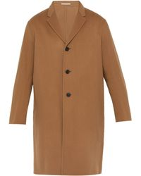 Acne Studios - Wool And Cashmere Blend Overcoat - Lyst