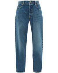 Raey Opa Baggy Boyfriend Jeans - Blue