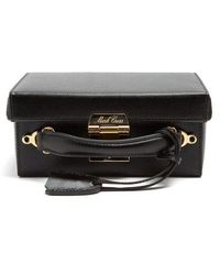 Mark Cross - Grace Small Pebble-leather Shoulder Bag - Lyst