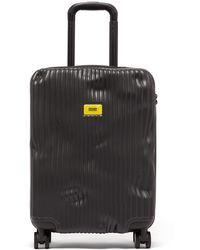 Crash Baggage Stripe 55cm Cabin Suitcase - Black