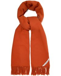 Acne Studios Canada Fringed Wool Scarf - Multicolour