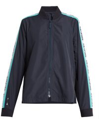 The Upside - Ash Striped Detail Performance Jacket - Lyst