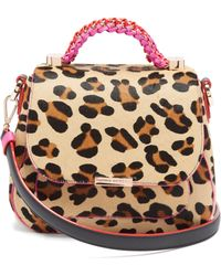Sophia Webster - Eloise Leopard Print Calf Hair And Leather Bag - Lyst
