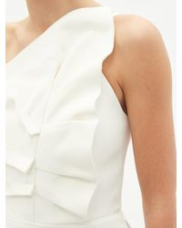 Roland Mouret ウォリントン コラムドレス - ホワイト