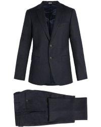 Lanvin - Virgin Wool And Cashmere Blend Suit - Lyst