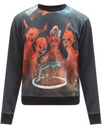 Walter Van Beirendonck X Pablo Iglesias Prada Cotton Sweatshirt - Multicolour