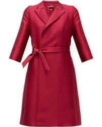 Max Mara Studio Pompei Opera Coat - Pink
