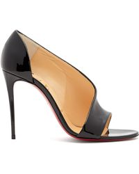Christian Louboutin - Phoebe 100 Patent Leather Pumps - Lyst