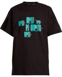 Martine Rose - Mtv Print Cotton T Shirt - Lyst