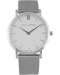 Larsson & Jennings - Lugano Stainless-steel Watch - Lyst