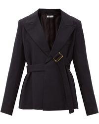 Palmer//Harding Atori Single-breasted Twill Jacket - Black