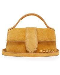 Jacquemus - Bambino Suede Bag - Lyst