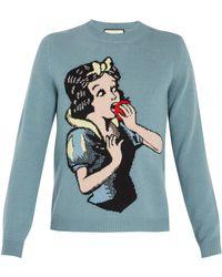 Gucci - Snow White Knit Jumper - Lyst