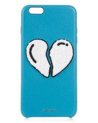 Chaos - Heart Leather Iphone® 6 Plus Case - Lyst