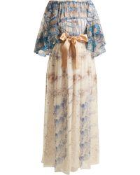 Zandra Rhodes Archive Ii The 1973 Seashell Spiral Gown - Multicolour