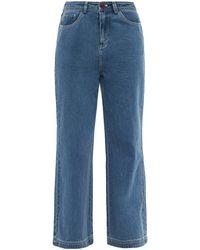 Sea Alyssa Wide-leg Jeans - Blue