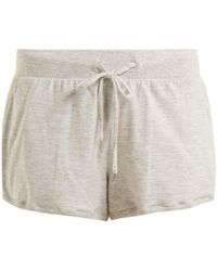 Skin | Finley Stretch-cotton Pyjama Shorts | Lyst