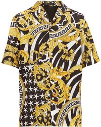 Versace Baroque Print Silk Twill Shirt - Multicolour