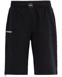 Vetements - Inside Out Cotton Blend Jersey Shorts - Lyst
