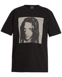CALVIN KLEIN 205W39NYC - Sandra Brant-print Cotton T-shirt - Lyst