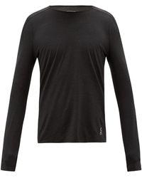 On パフォーマンス ロングスリーブtシャツ - ブラック