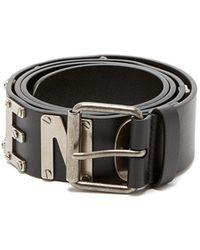 Balenciaga - Logo Leather Belt - Lyst