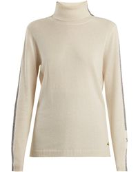 Bella Freud - Britt Roll-neck Cashmere-blend Sweater - Lyst