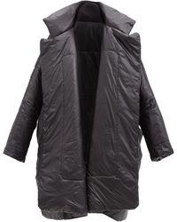 Norma Kamali Sleeping Bag Oversized Padded Coat - Black