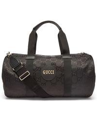 Gucci 【公式】 (グッチ) Off The Grid ダッフルバッグブラック GG Econyl®ブラック